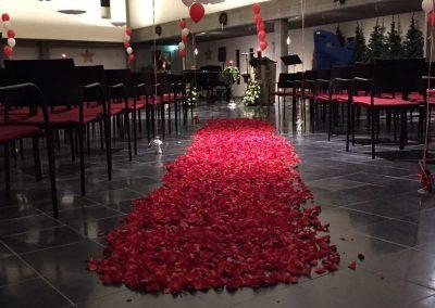 in memorian concert optreden rozen blaadjes pad infinity uitvaartzorg