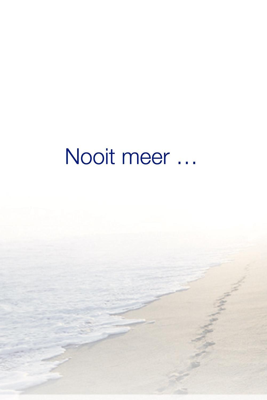 Pier Bruijn voorkant rouwkaart